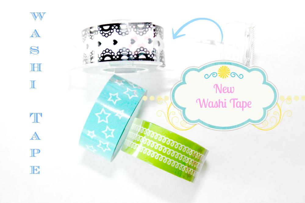 washi tape nowe