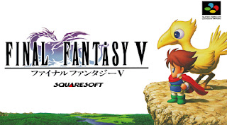 Arte gráfico de Final Fantasy V en Super Famicom, 1992