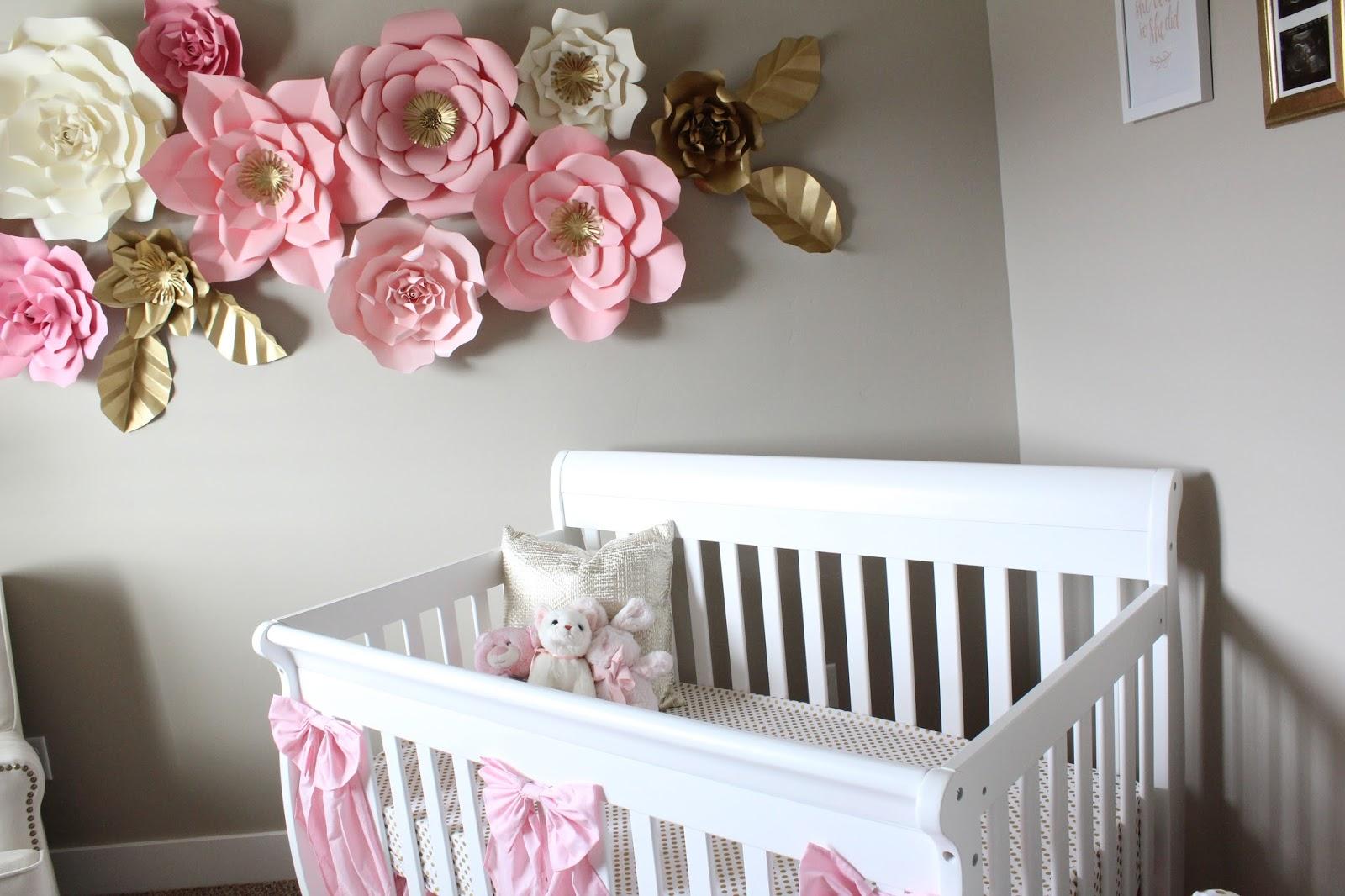 My Baby Girl S Nursery: Brooke & Jane: Pink And Gold Baby Girl Nursery Reveal