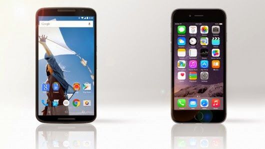 Google Nexus 6 vs iPhone 6 Plus Review