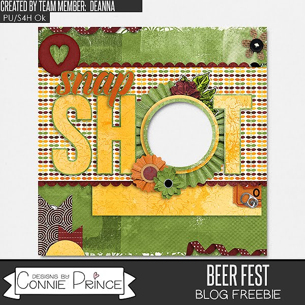 Beer Fest {NEW} and Ginger Scraps Buffet Sale + FREEBIE