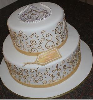 gambar kue ulang tahun untuk anak perempuan