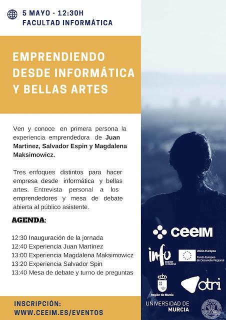 """Jornada: """"Emprendiendo desde Informática y Bellas Artes"""""""