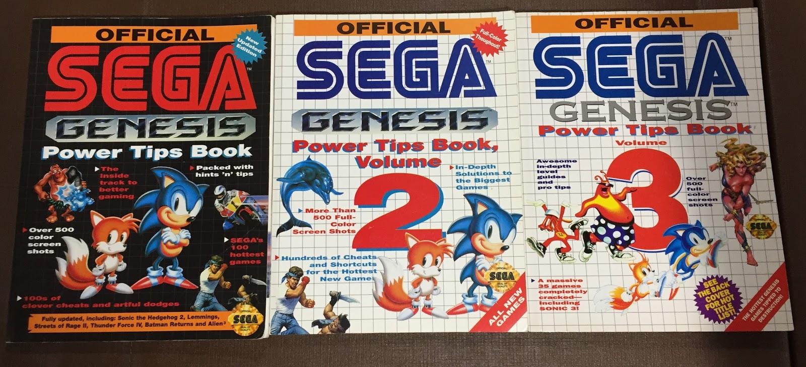 Retro Gamer Randomness Book Review Sega Power Tips Official Volumes 1 3