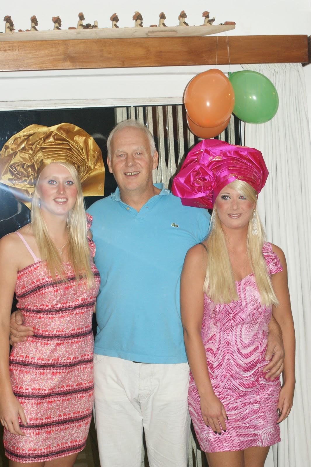Hetlevenna: Bezoek van de meiden uit holland