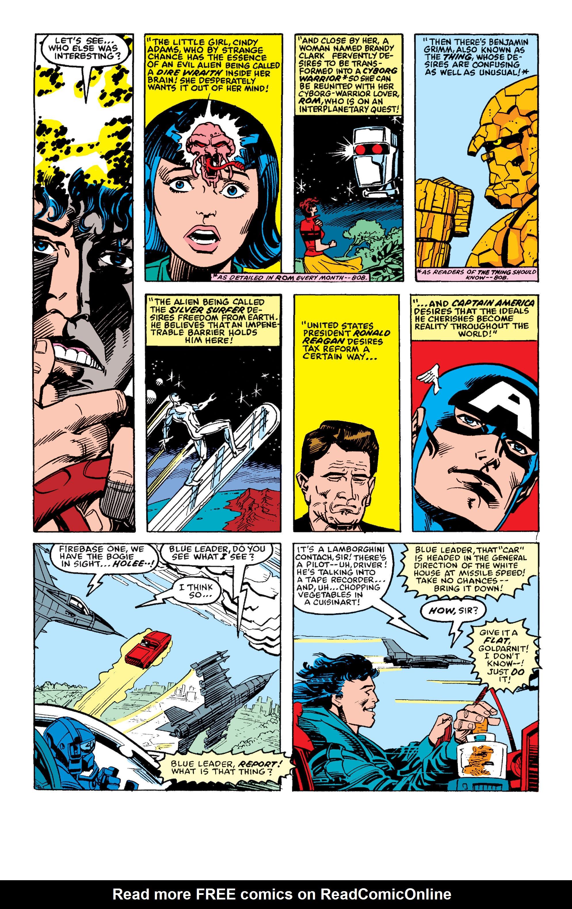 Read online Secret Wars II comic -  Issue #4 - 5