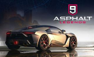 لعبة سباق السيارات ﺍﺳﻔﻠﺖ 9 ﻟﻴﺠﻨﺪﺯ -  Asphalt 9: Legends