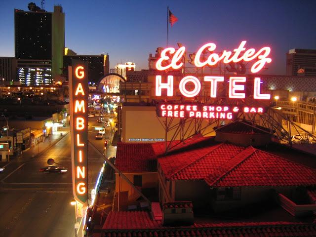 El Cortez Casino Las Vegas Neon Sign