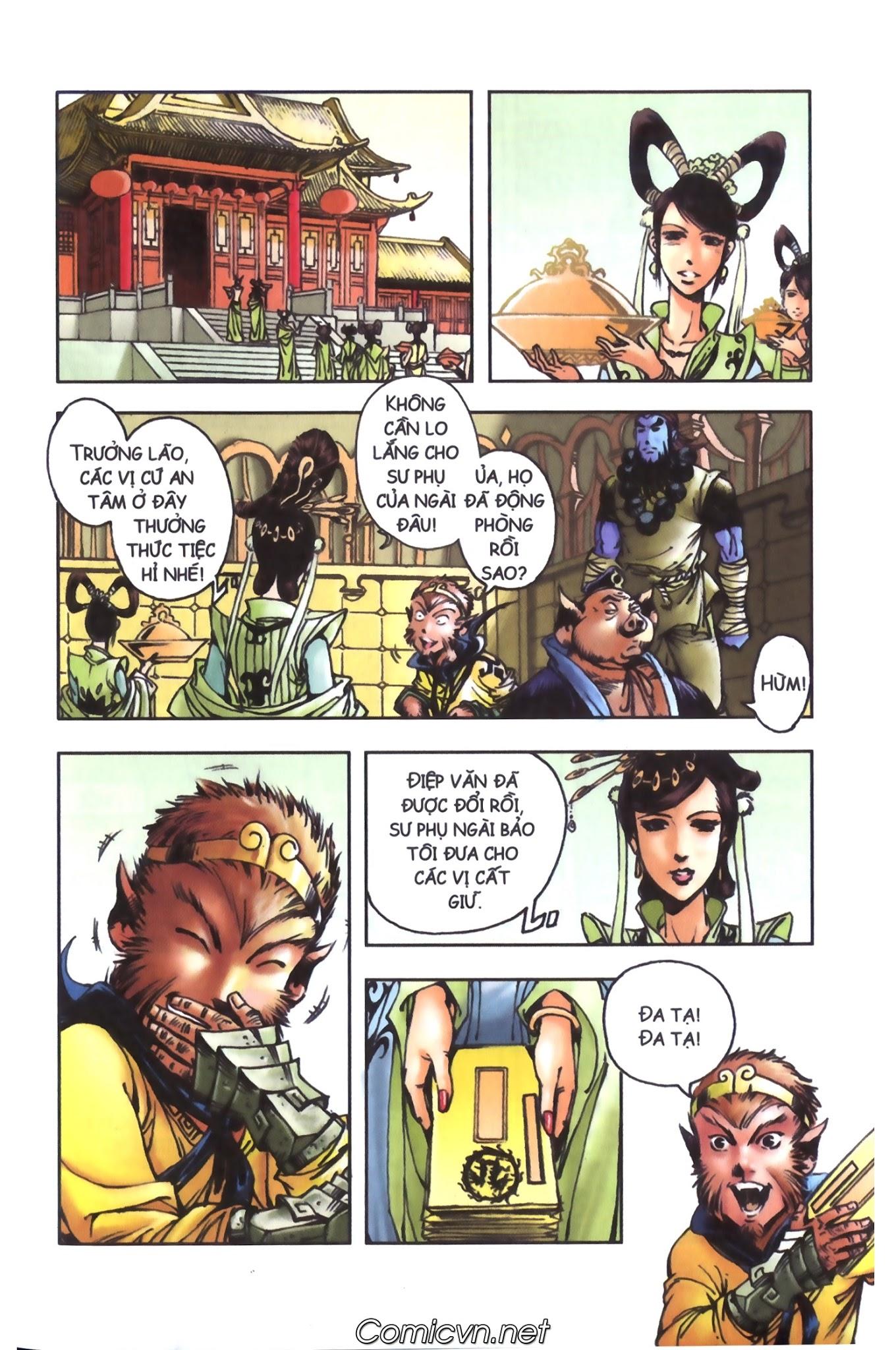 Tây Du Ký màu - Chapter 98 - Pic 30