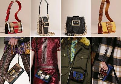 borse da donna di burberry, collezione autunno-inverno 2016/17