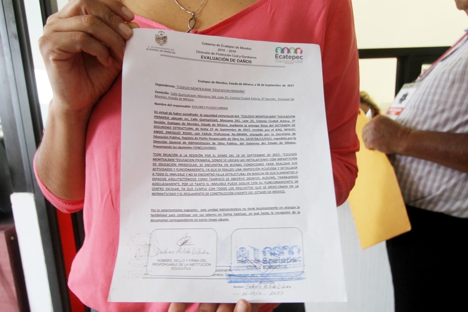 El mexiquense Hoy: Entrega gobierno de Ecatepec 300 evaluaciones de ...
