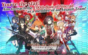 Sword Art Online: Integral Factor v1.0.1 Apk Mod for Android
