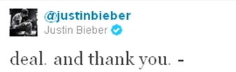 Bieber Exclusive A Beliebers Letter to Justin Bieber