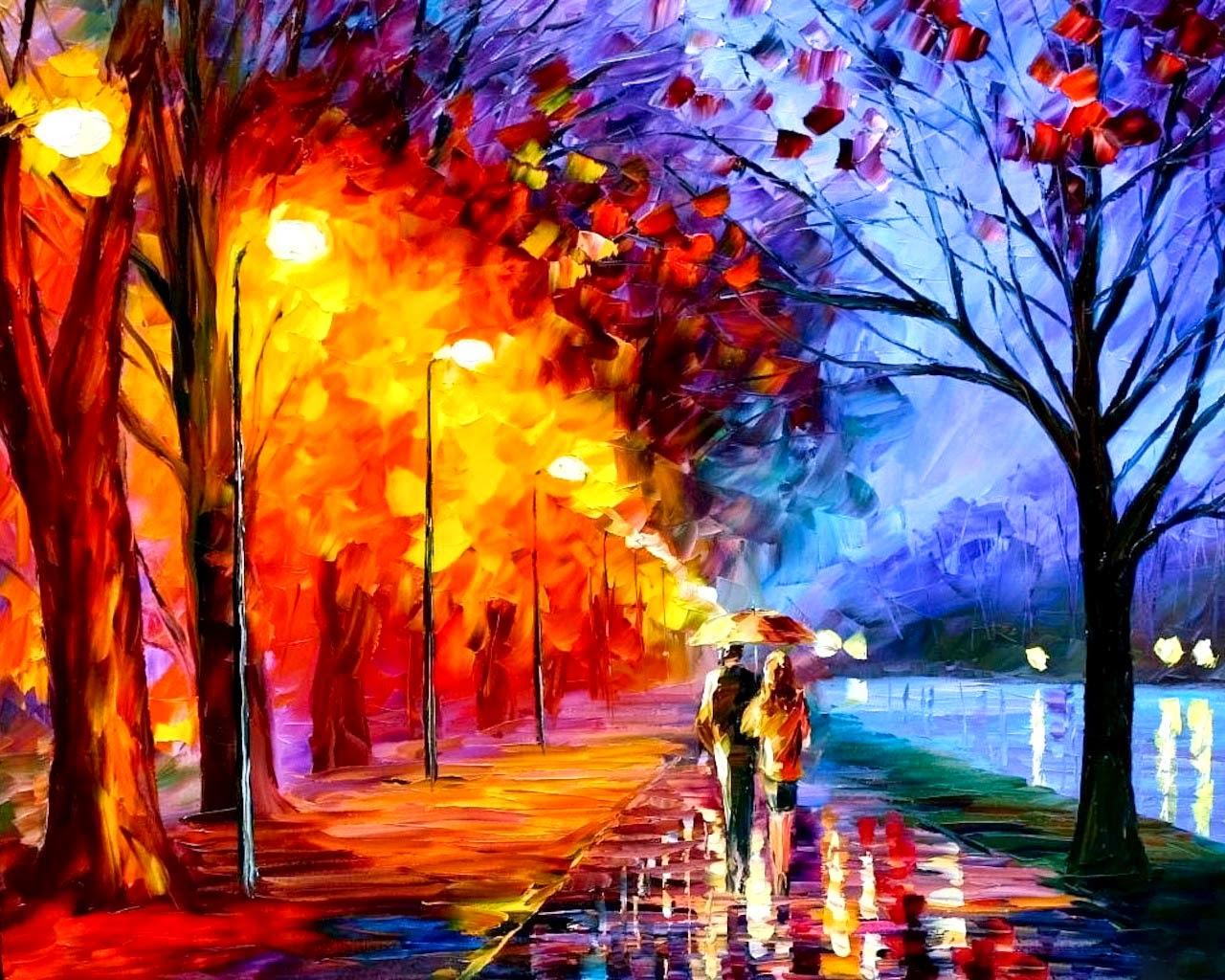 Beautiful 3d Oil Painting For Desktop Hd Wallpapers