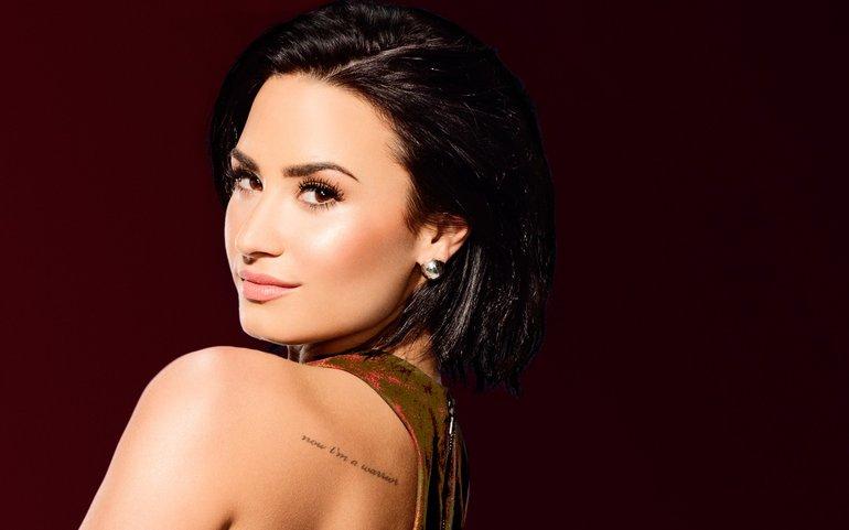 Demi Lovato reacciona a 'nude' de ella que esta circulando en la web