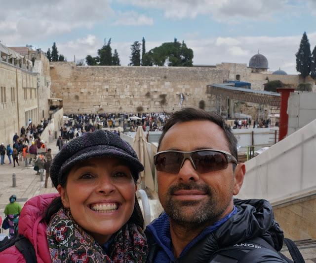 Muro das Lamentações, em Jerusalém