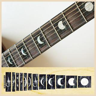 Gambar bagian gitar Fret marker