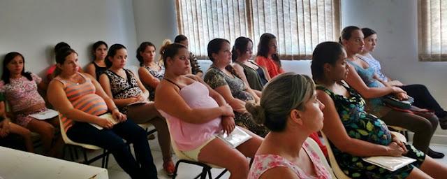 Prefeitura de Roncador realiza o Primeiro Encontro de Gestantes de 2016