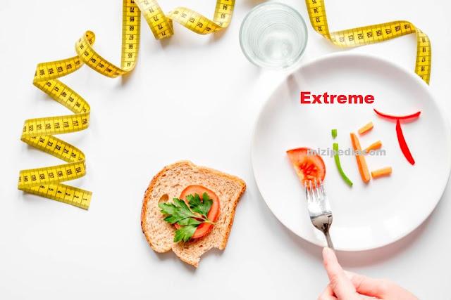 Bahaya Diet Ekstrim Yang Mematikan