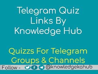telegram quizs