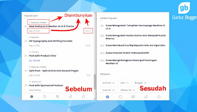 tutorial mengubah tampilan widget popular post median ui