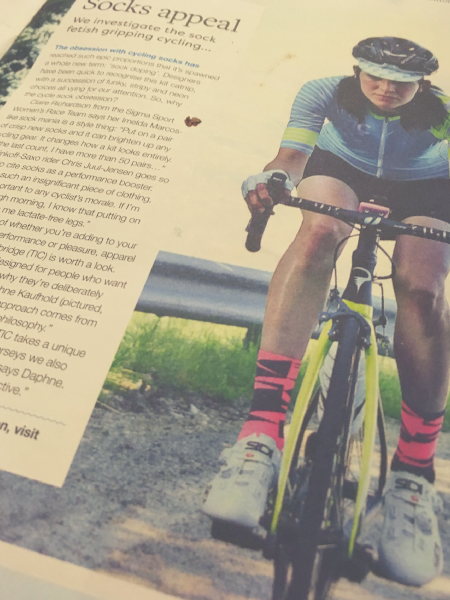FitBits | Casquette women's cycling magazine review | Tess Agnew fitness blogger