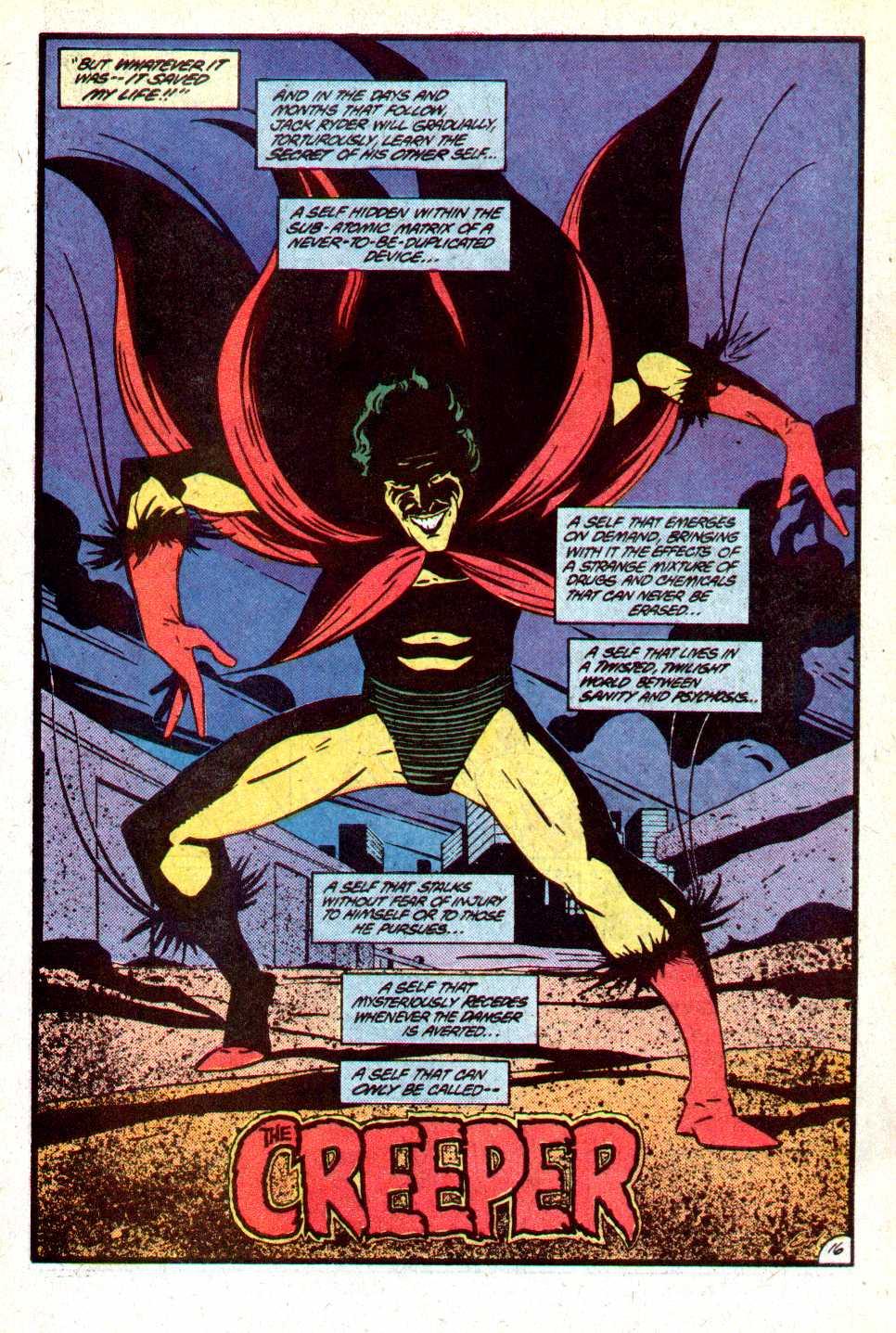 Read online Secret Origins (1986) comic -  Issue #18 - 17