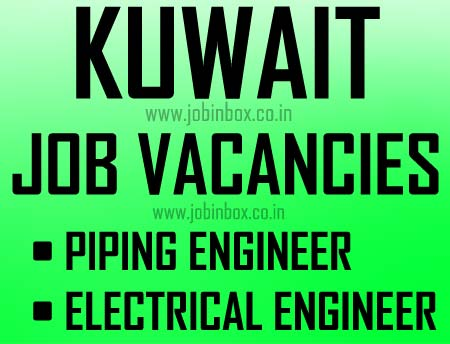 Piping Engineer - Electrical Engineer Jobs in Kuwait - Dynamic Staffing Services (DSS - HR)