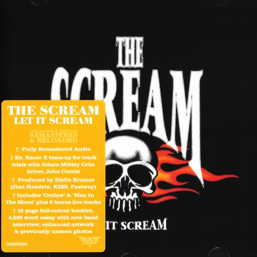 THE SCREAM - Let It Scream [Rock Candy remaster +6] (2018) full