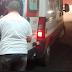 Colisão entre carro e moto deixa popular ferido no centro de Cajazeiras
