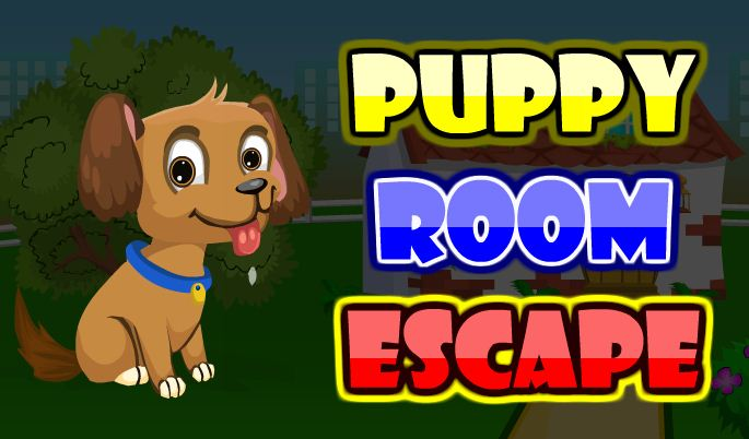 AjazGames Puppy room esca…