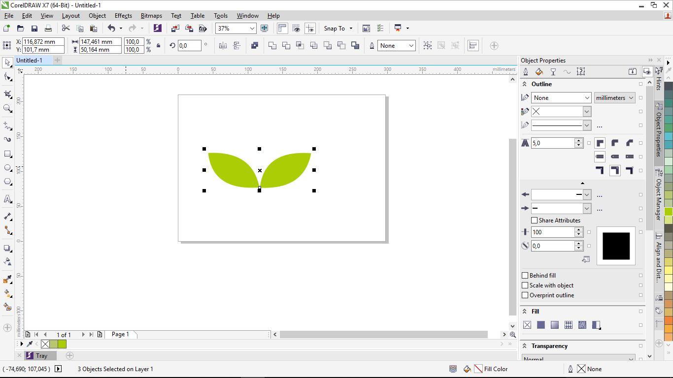 Cara Membuat Gambar Daun Di Corel Draw Menggunakan Freehands