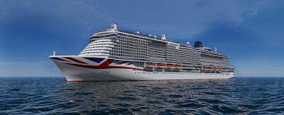 Artists Rendering of P&O Cruises New Iona