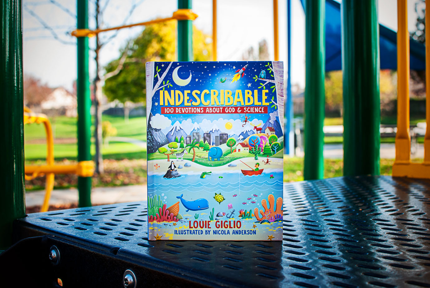 Indescribable 100 Devotions About God and Science For Kids