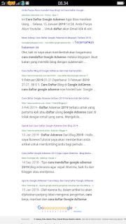 Cara Mudah Agar Blog / Web Muncul Dihalaman Pertama Google