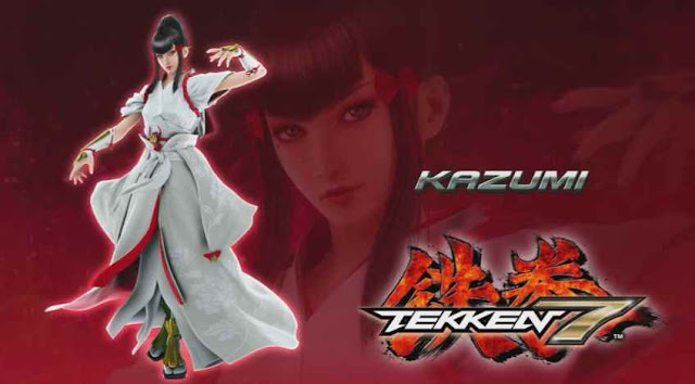 Tekken 7 Characters and their storie Kazumi