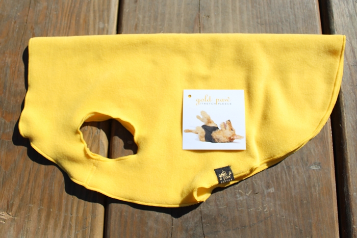 Stretchy and Stylish! Gold Paw Series Stretch Fleece Review