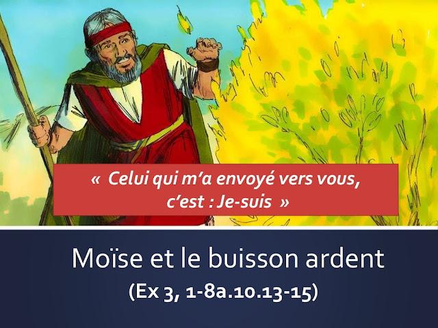 Diaporama : Moïse et le buisson ardent