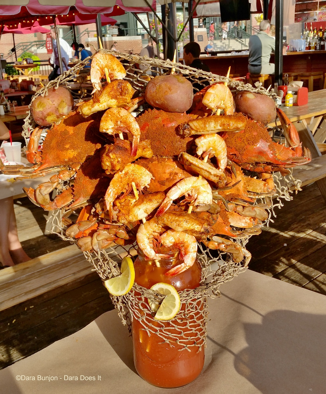 Dining Dish: The Biggest, Best Bloody Mary East Of The