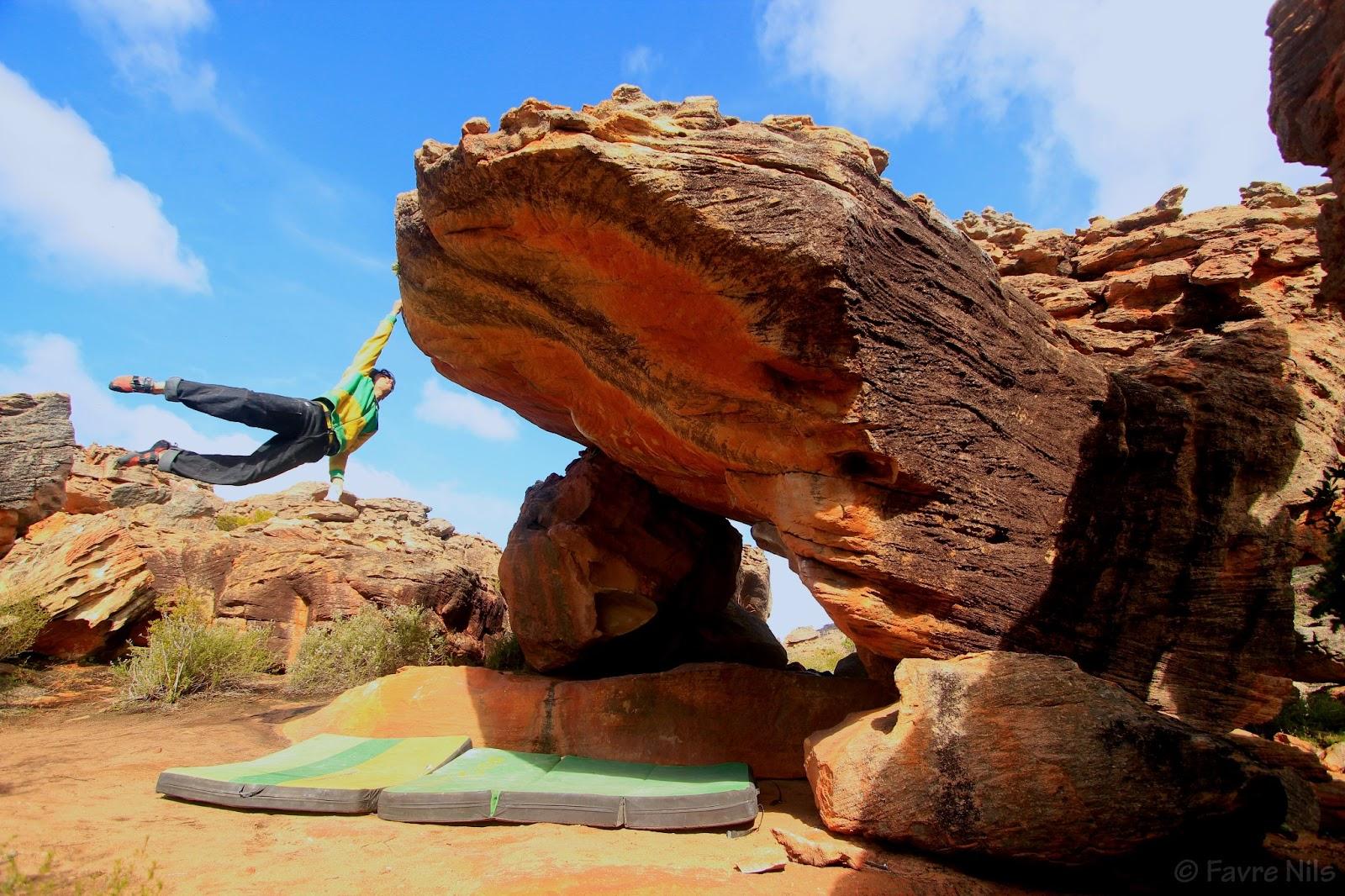 Niccolo Ceria Climbing Adventures Rocklands Second Week