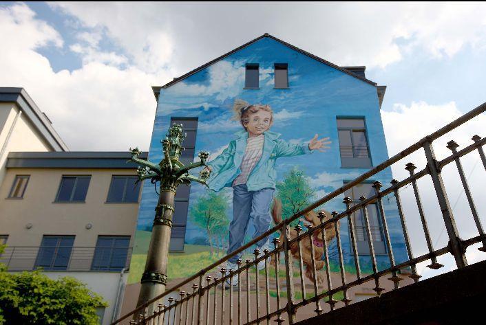Mural Marlier- Martine