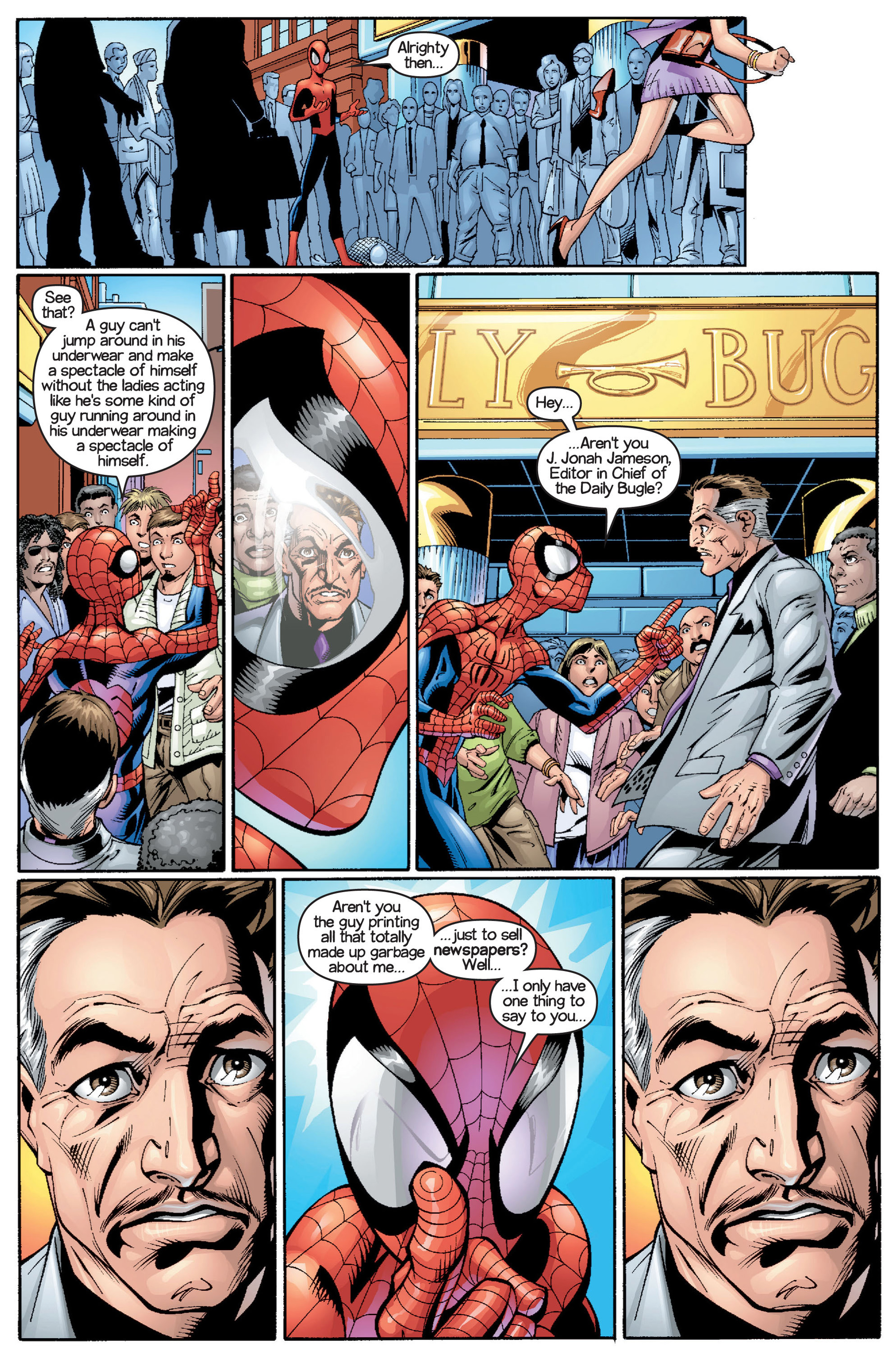 Read online Ultimate Spider-Man (2000) comic -  Issue #15 - 18