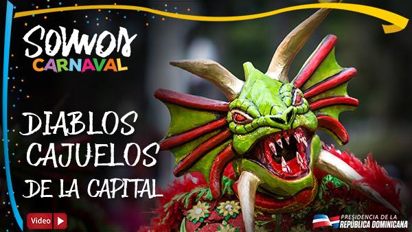 VIDEO: Diablos Cajuelos de la Capital. Somos Carnaval