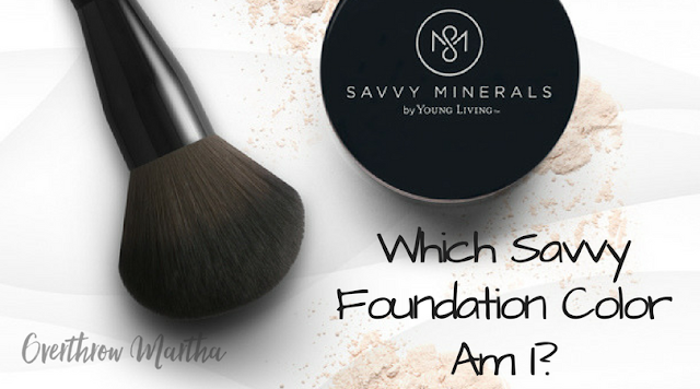 Which Savvy Mineral Makeup should I use?