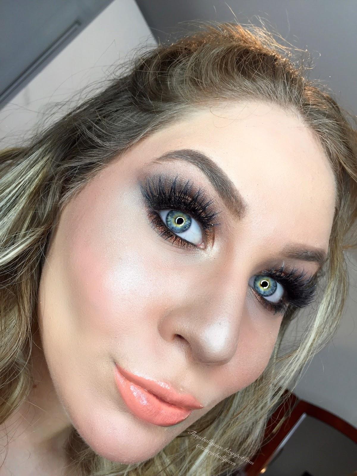 Soft glam bronzed cut crease prom makeup tutorial soft glam bronzed cut crease prom makeup tutorial baditri Gallery