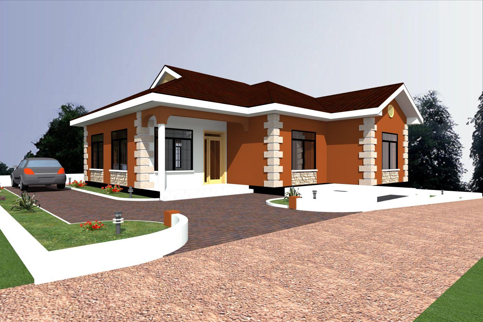 Nyumba za kisasa home plan tz for Decoration za nyumba