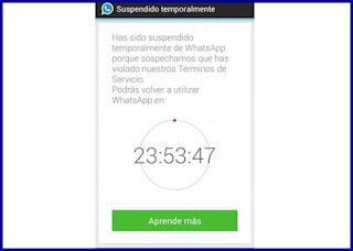 WhatsApp suspenderá cuentas ¿qué hacer si te sucede?