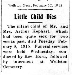 John Chester Kephart Dies Wellston Oklahoma