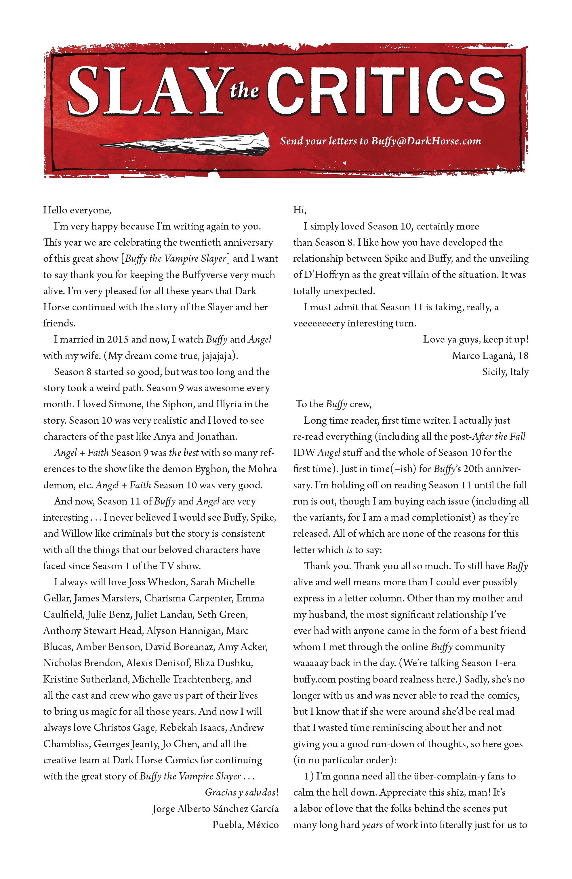 Read online Angel Season 11 comic -  Issue #6 - 26