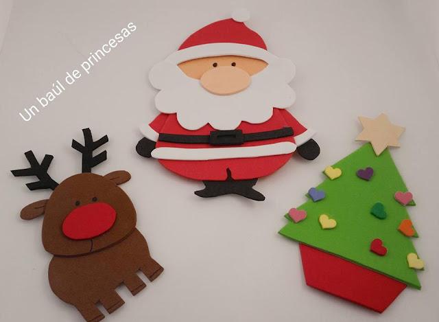 Imanes navideños